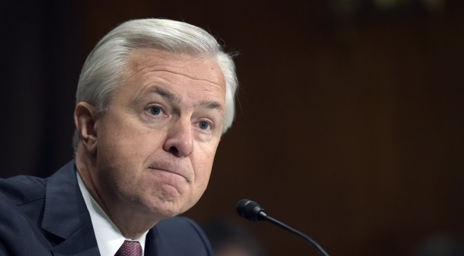 Wells Fargo executives forfeit millions and CEO to forgo salary amid inquiry