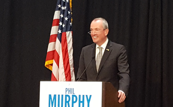 PHIL MURPHY MAKES STATE BANK CENTERPIECE OF GUBERNATORIAL CAMPAIGN