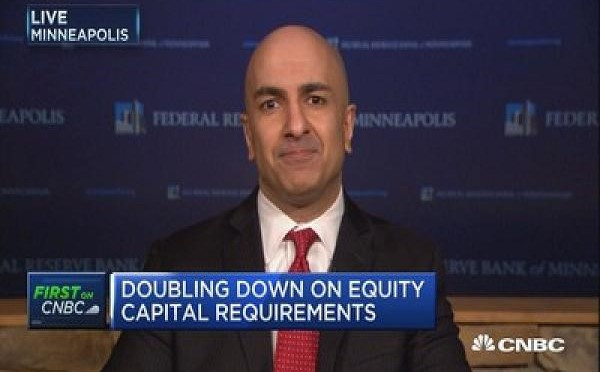 Fed's Kashkari to Jamie Dimon: It's 'nothing personal' — big banks need to double their safety nets