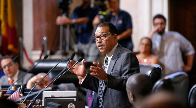 Housing, battling racism and a municipal bank top agenda for L.A. council president